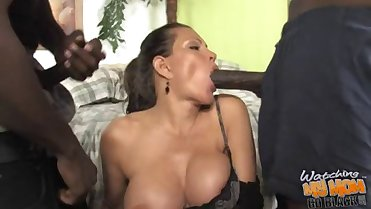 Busty mother fucked